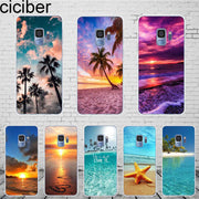 Ciciber Hawaiian Aloha Samsung Galaxy S 5 6 7 8 9 Edge Plus Cover Soft Silicone TPU Phone Cases For Galaxy Note 3 4 5 8 9 Case