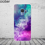 Ciciber Northern Lights Samsung Galaxy S 5 6 7 8 9 Edge Plus Phone Case Silicone TPU For Galaxy Note 4 5 8 9 Cover Fundas Coque