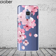 Ciciber Plants Cactus For Samsung Galaxy S 5 6 7 8 9 Edge Plus Phone Case Silicone TPU For Galaxy Note 5 8 9 Cover Fundas Coque