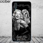 Ciciber Sexy Marilyn Monroe For Mate 20 10 9 Lite Pro X 2017 Fundas For Huawei P 20 10 9 8 Pro Lite Plus Phone Case Soft TPU