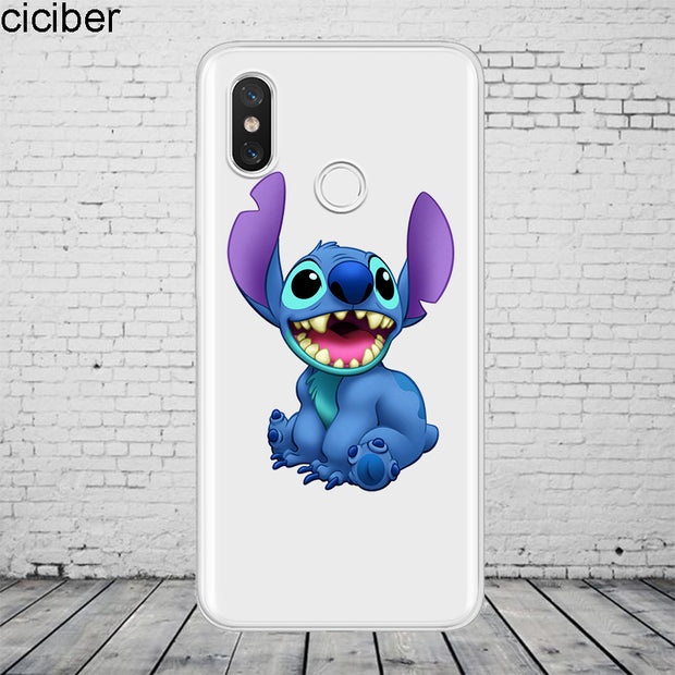 Ciciber Stich Stitc For Xiaomi MIX MAX 3 2 1 S Pro Harry Potter Phone Case For Xiaomi A2 A1 8 6 5 X 5C 5S Plus Lite SE Coque