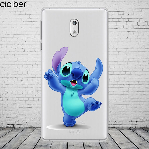 Ciciber Stich Stitch For Nokia 8 7 7.1 6 6.1 5 5.1 3 3.1 2 2.1 1 Plus Phone Case Soft Silicone TPU For Nokia X7 X6 X5 X3 Fundas