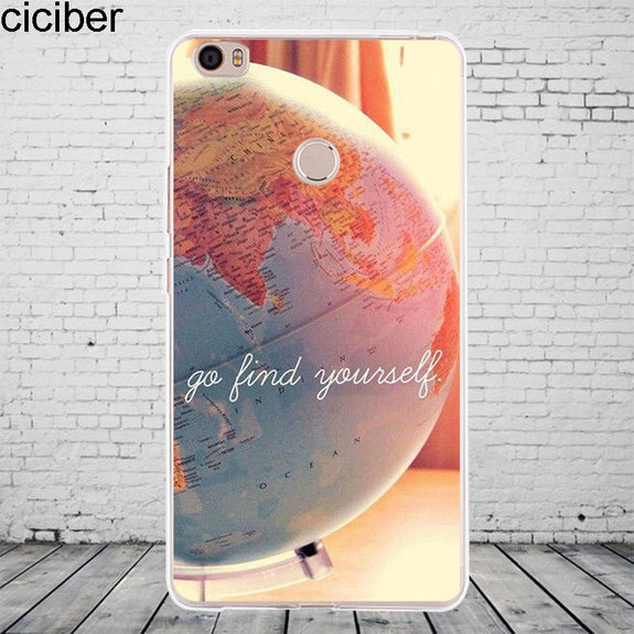 Ciciber World Map Travel For Xiaomi MIX MAX 3 2 1 S Pro Harry Potter P