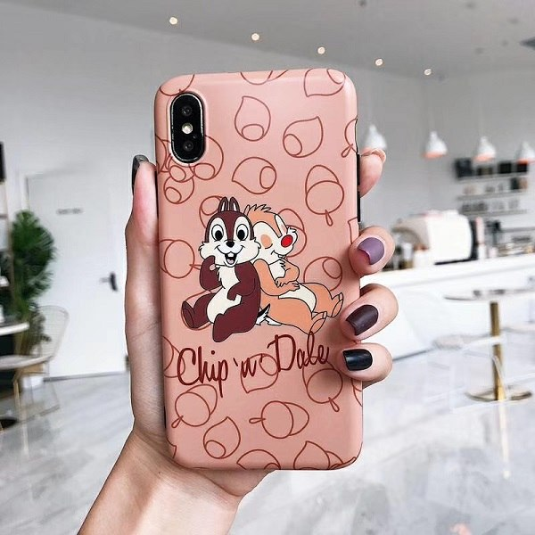 Cute Cartoon Squirrel Chip Dale Funny Phone Case For Iphone Xs Max Xr Western Cases