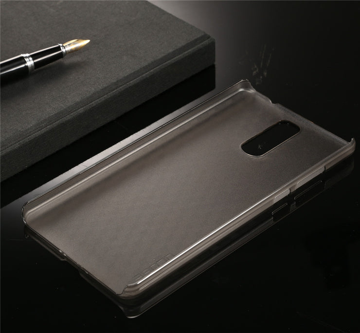 Doogee Y6 Max Case With Ultra Thin Pc Back Cover Case For Original Phone Bag Accessories