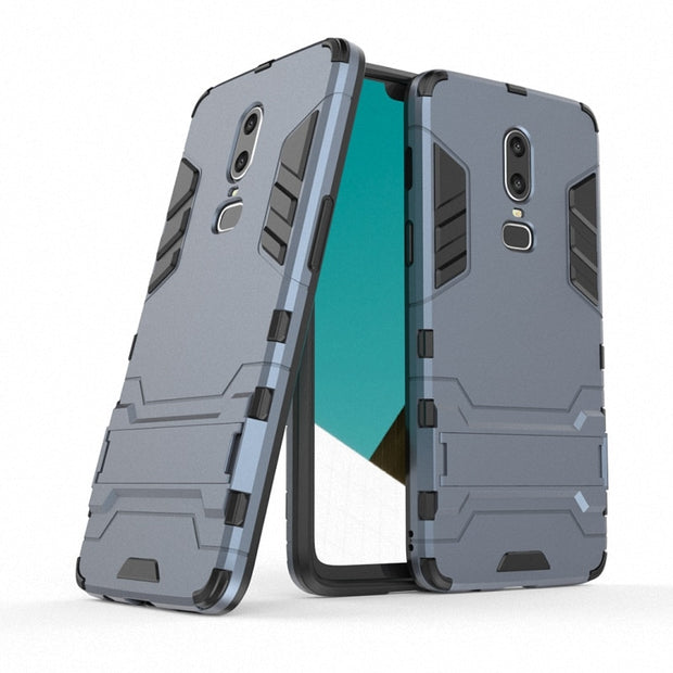 For OnePlus 5T 5 A5000 A5010 For OnePlus 6 Shockproof Hard Phone Case For OnePlus 6T 3 3T 3 T Combo Armor Case Back Cover Capa>