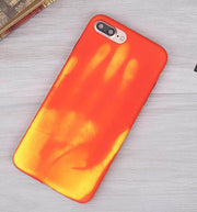 Heat Sensitive Color Changing Magic Thermal Discoloration Soft Phone Case Cover For IPhone XS Max XR XS 5s Se 6 6S 7 8 Plus X