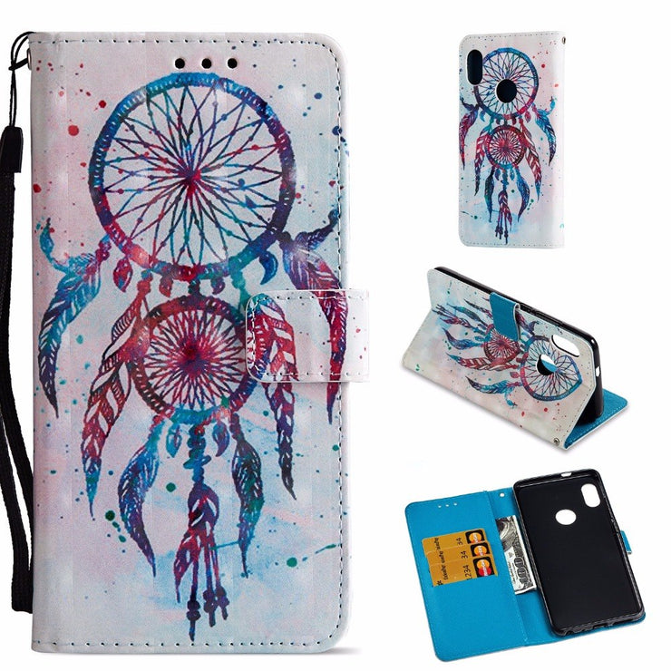Maosenguoji 3D Painted Leather Case Mobile Phone Case For Xiaomi 6X 5X Redmi Note 5 Pro Plus 4X 4A 5A Luxury Business Case