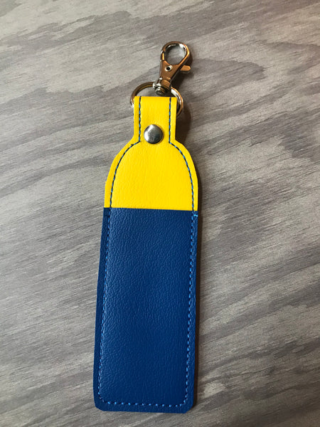 Yellow and Blue Large Lip Balm Holder