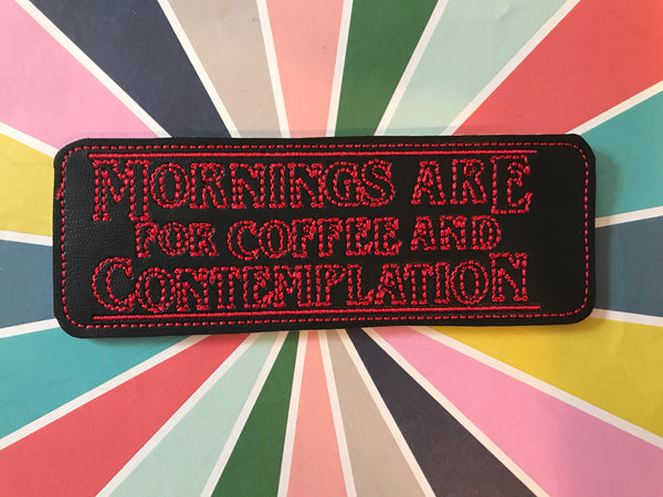 Coffee and Contemplation Bookmark