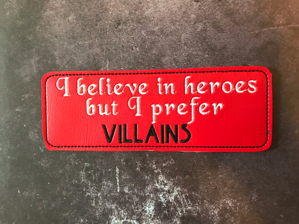 Heroes and Villains Bookmark