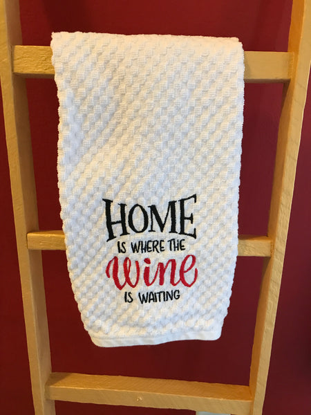 Home and Wine Kitchen Towel