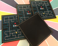 80's Arcade Game Coaster Set