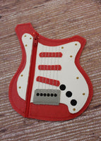Guitar Zipper Pouch