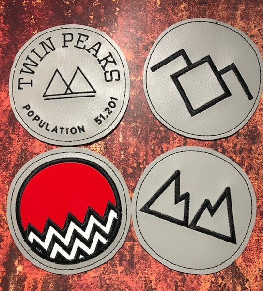 Twin Peaks Inspired Coasters