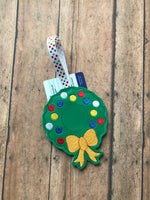 Wreath Ornament Gift Card Holder