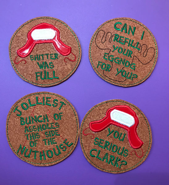 Christmas Vacation Coasters