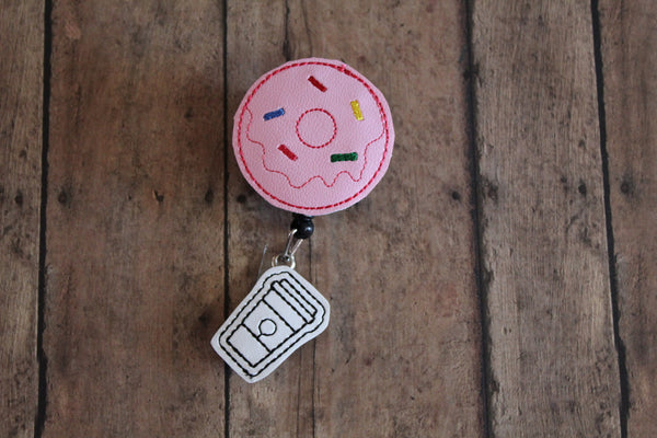 Donut Badge Reel Holder