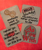Princess Bride Coasters