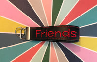 Friends Don't Lie Glow in the Dark Zipper Bag