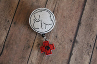 Vet Badge Reel Holder