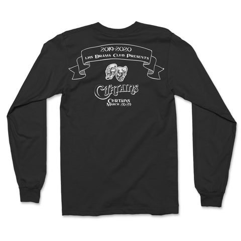 Curtains Presale Long Sleeve Tee