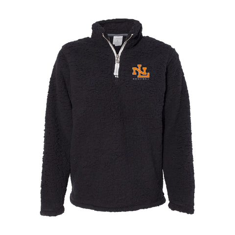 Womens Quarter Zip Sherpa