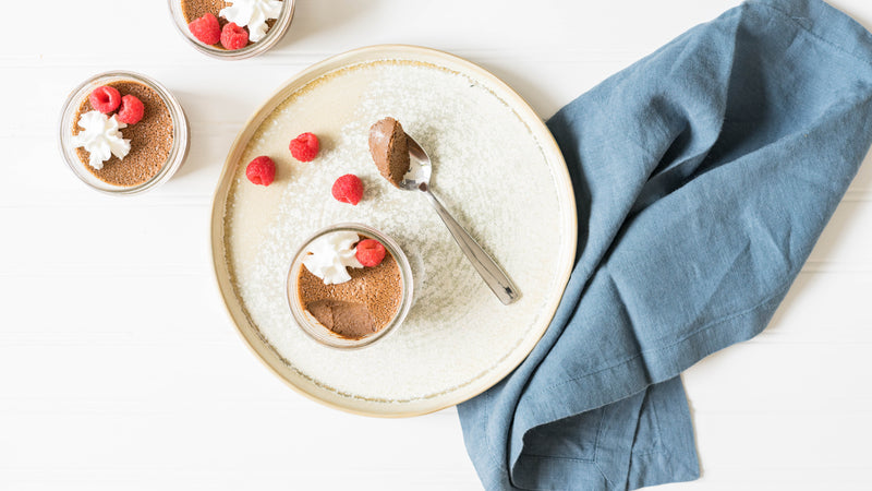 Sous Vide Chocolate Custard