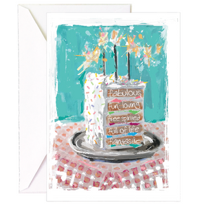 Slice of Bliss Birthday - Single Card