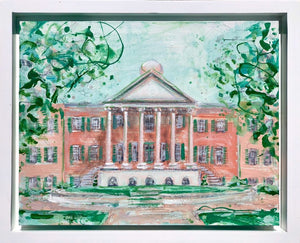 "Framed College of Charleston | 11"" x 14"""