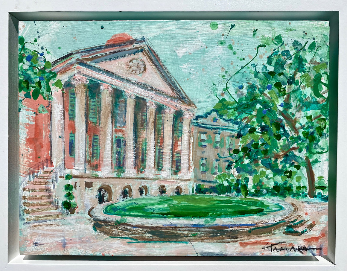 "Framed College of Charleston | 9"" x 12"""