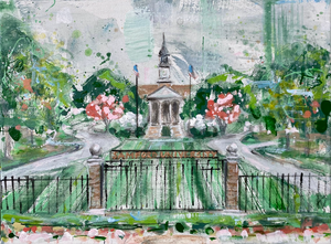 Samford Print on Canvas