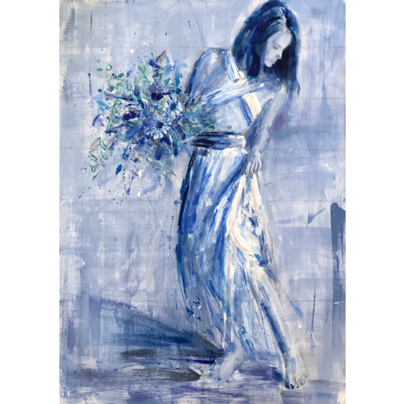 "Beauty in the Blue | 30""x40"""