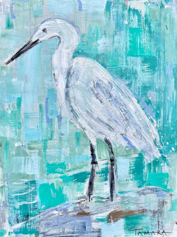 An Egret State of Mind | 18x24 (Framed)