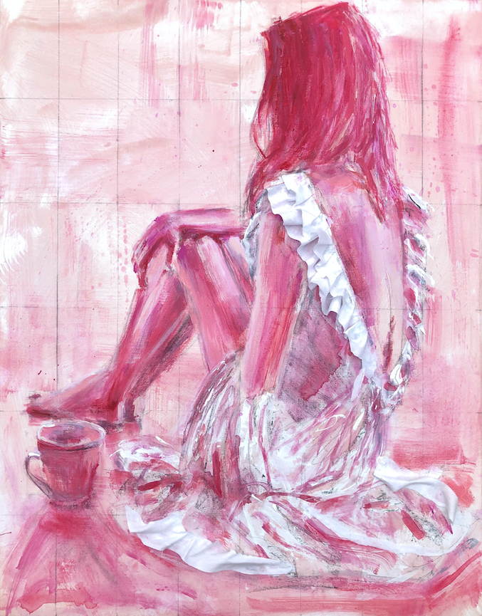 "Your're Making Me Blush Print - 11"" x 14"""