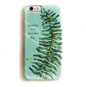 Simplicity Fern Phone Case