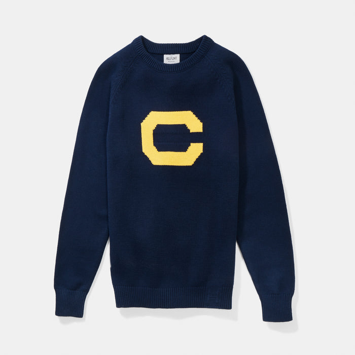 Cal Vintage Letter Sweater