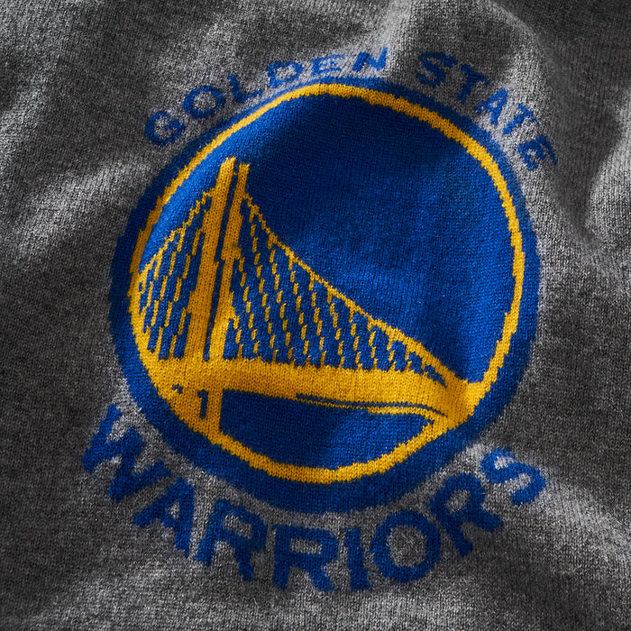 Golden State Warriors (Gray) Cashmere Hoodie