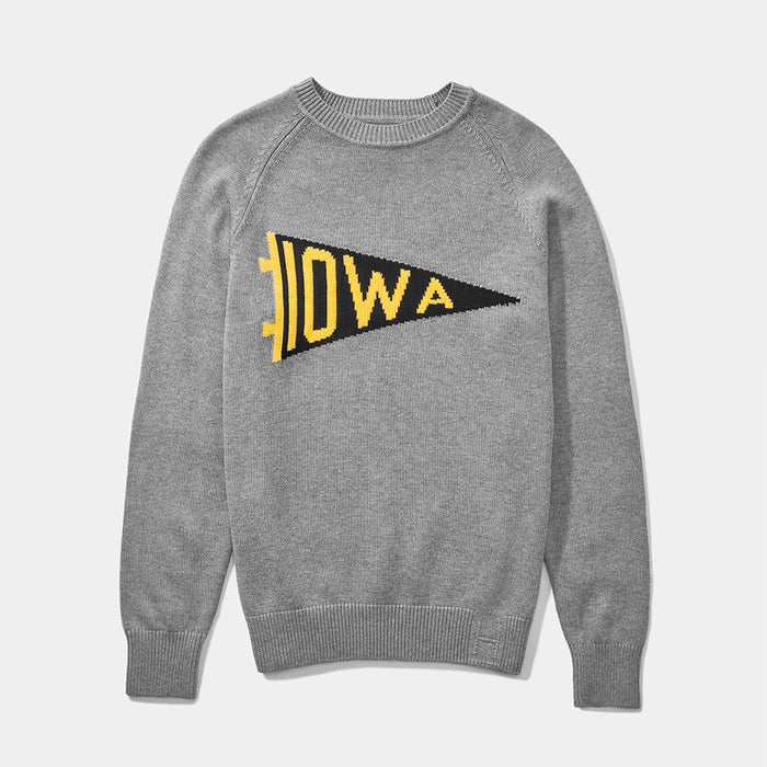 Iowa Pennant Sweater