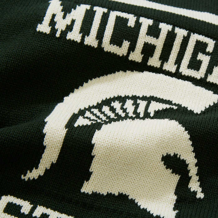 Cotton Michigan State Mascot Sweater