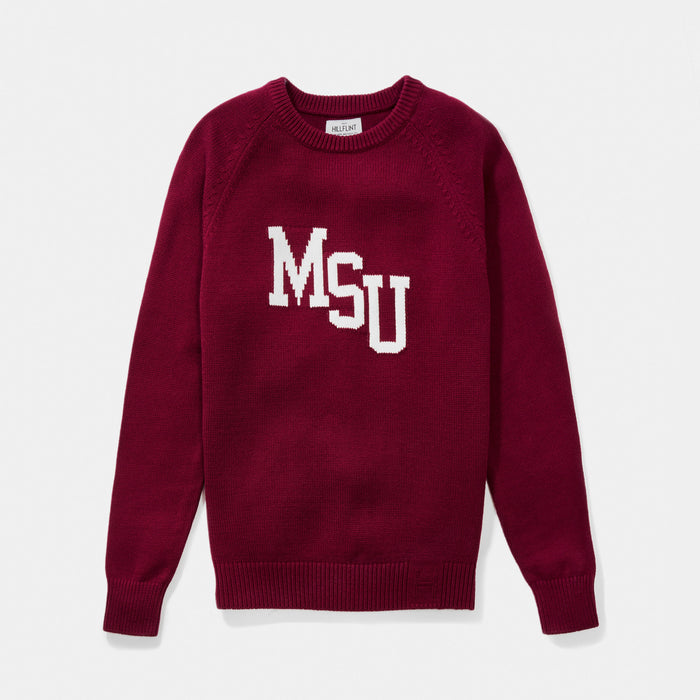 Mississippi State Letter Sweater
