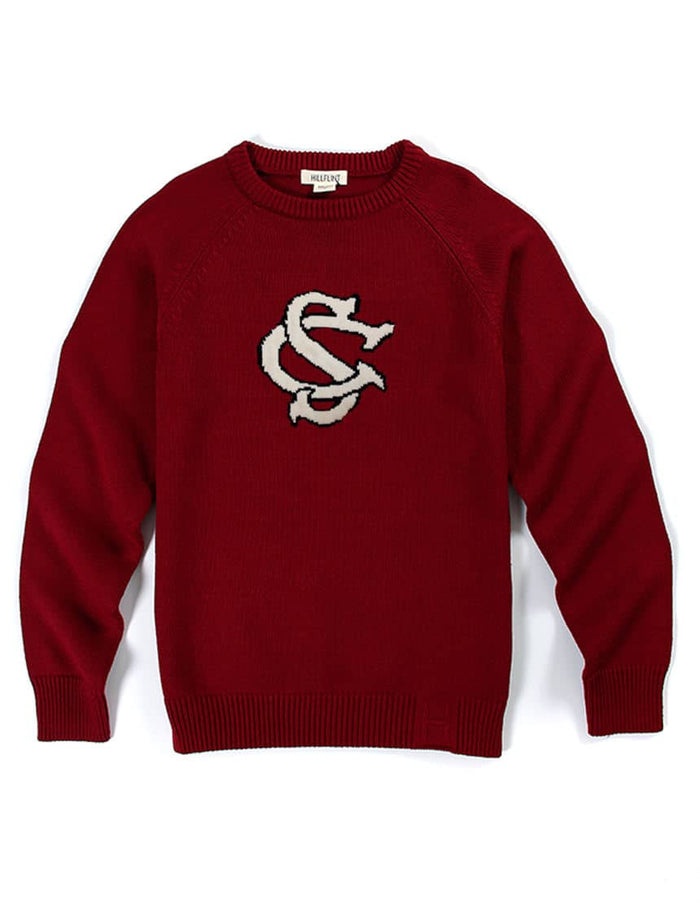 Merino South Carolina Letter Sweater