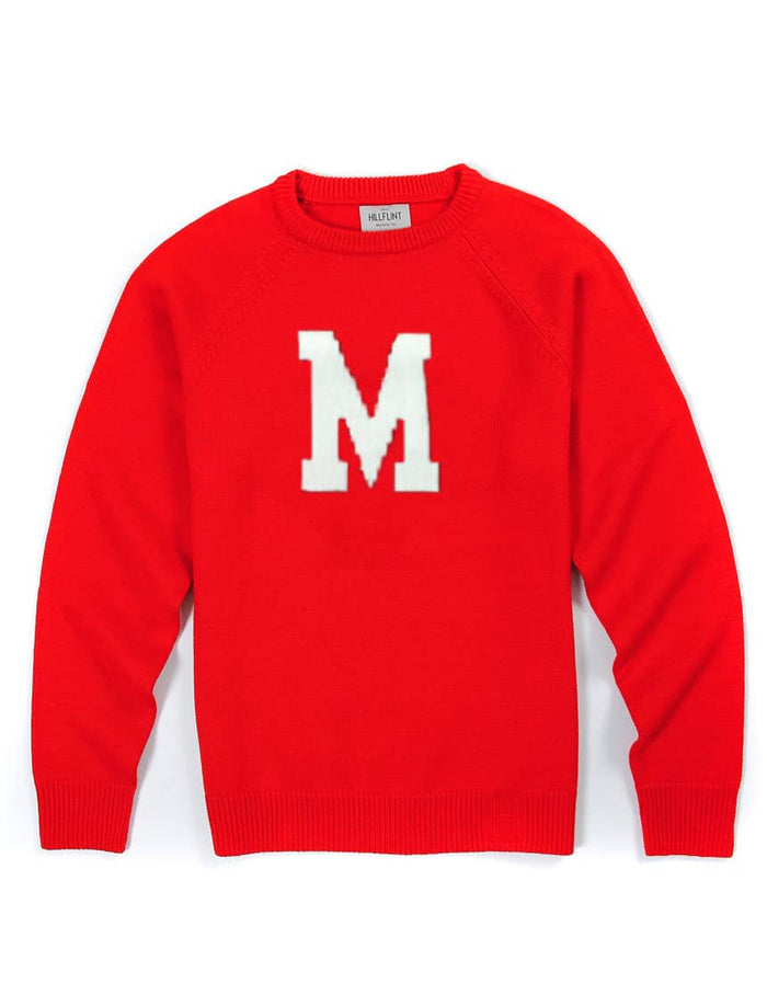 Maryland Letter Sweater