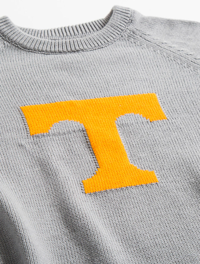 Tennessee Letter Sweater (Heather Gray)