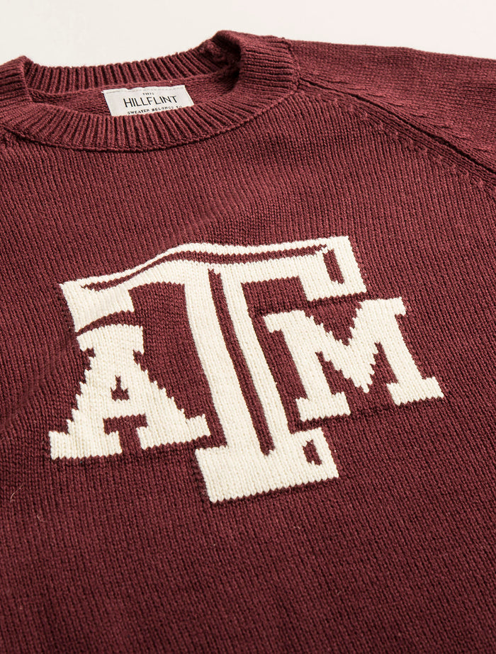 TAMU Letter Sweater