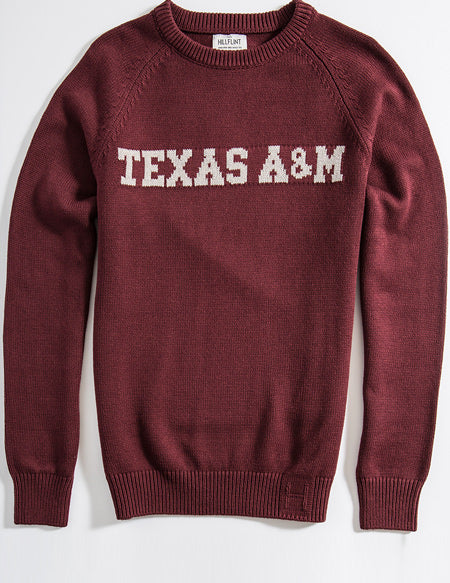 Cotton Texas Au0026M School Sweater ...