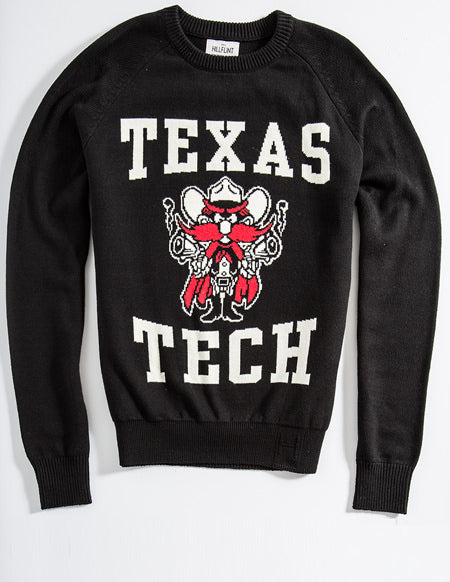 Cotton Texas Tech Mascot Sweater