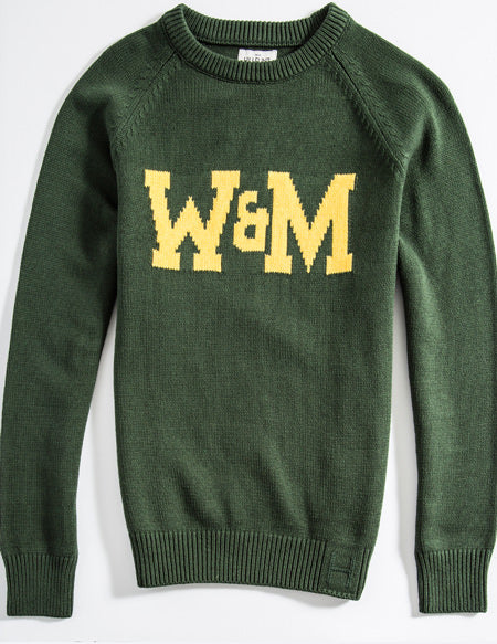 Cotton William & Mary School Sweater