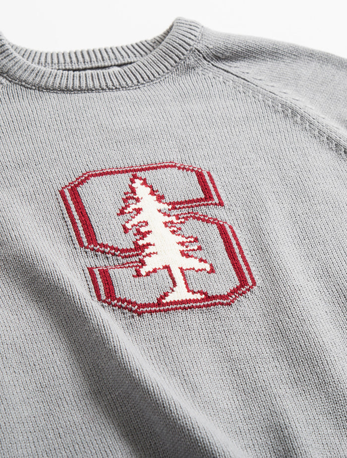 Stanford Letter Sweater (Gray)