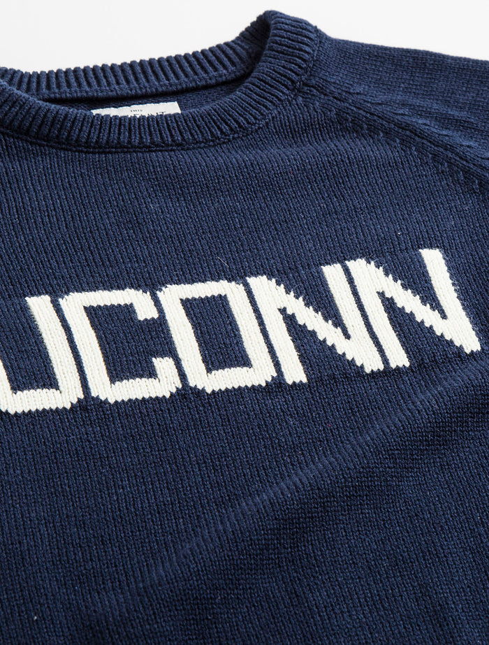 Cotton UCONN School Sweater